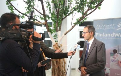 Launch of third Moroccan School with the Ambassador of Finland to Morocco, H.E. M.Pekka Hyvönen.