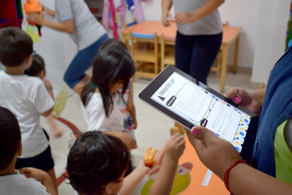 Technology enables transparency in early childhood education